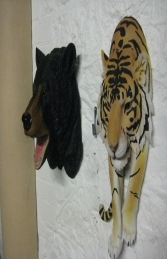Tiger Wall Mount (JR DD88202Y) - Thumbnail 02