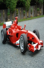 F1 Formula Race Car Red (JR FH)