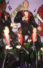 Rat Pack - Set of 3 figures 3ft (JR SETRP-3)
