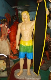 Surfer Boy Life-size (JR DS) - Thumbnail 01