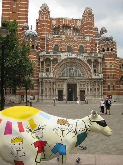 KANGAROO AT WESTMINSTER CATHEDRAL