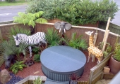 SAFARI GARDEN IN SHIPSTON-ON-STOUR