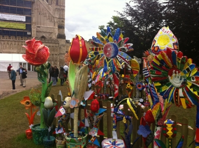 "THE ""MAJESTY"" FLOWER FESTIVAL - EXETER CATHEDRAL"