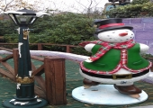 DRAYTON MANOR CHRISTMAS GROTTO - 2012